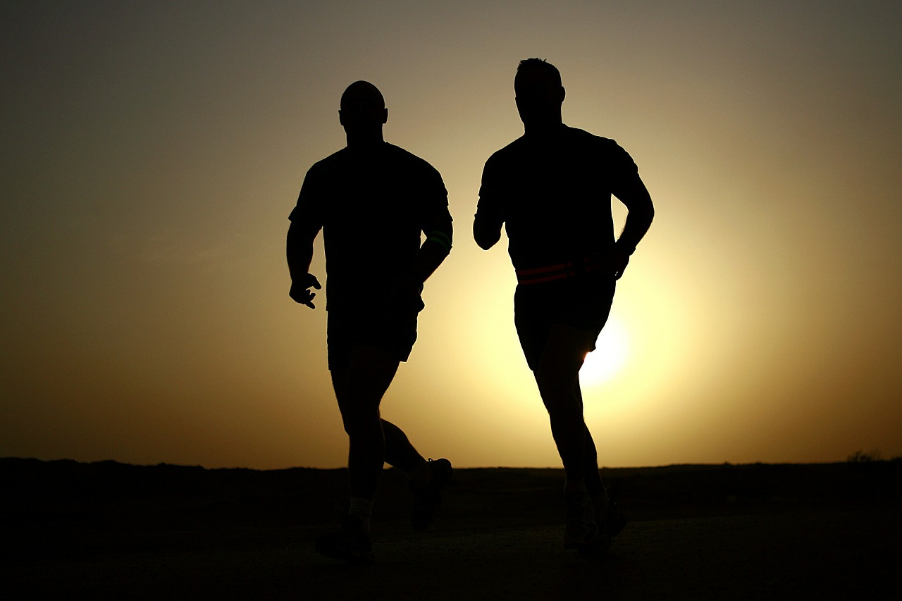 joggen-morgens-abends-training