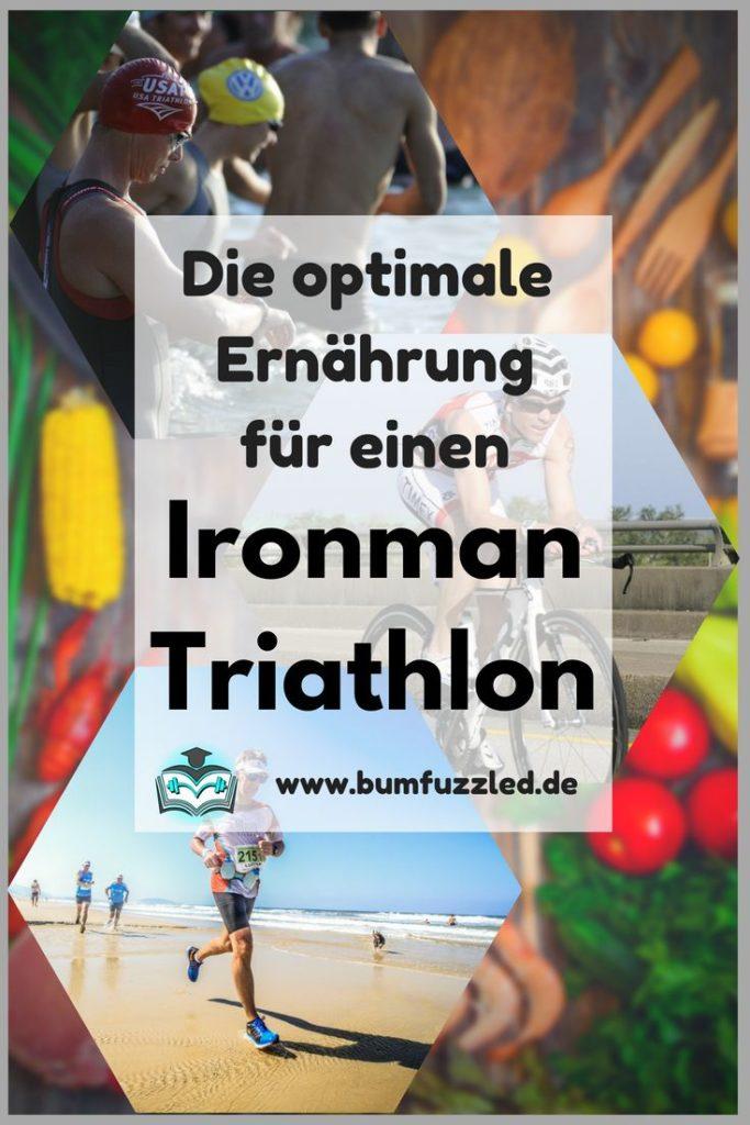 Ernährung im Ironman Triathlon Trainingsplan