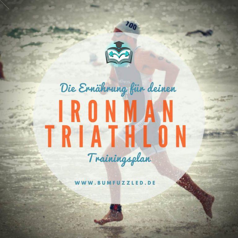 Die Ernährung für den perfekten Ironman Triathlon Trainingsplan