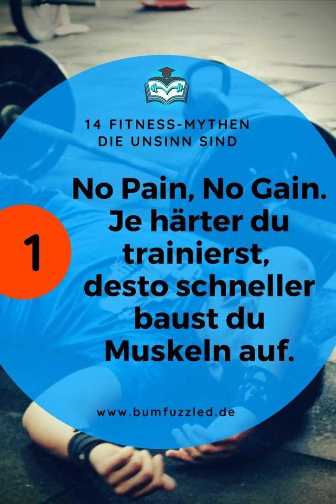 Fitness-Mythen die Unsinn sind im Krafttraining