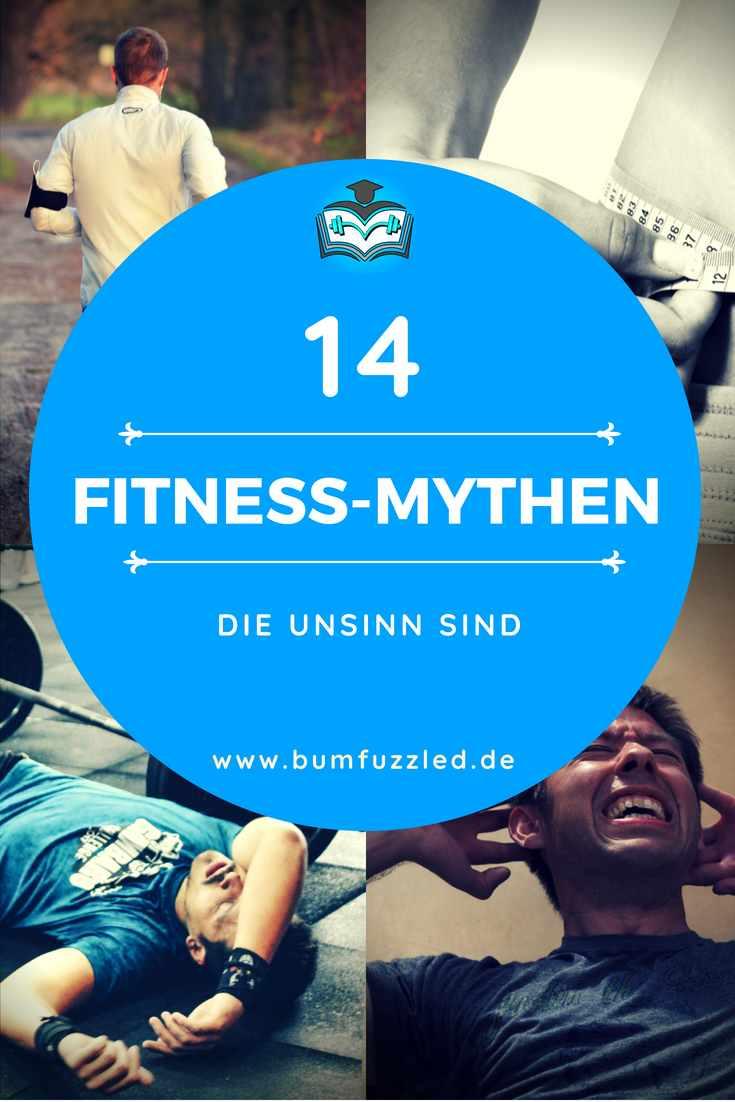 Die 14 größten Fitness-Mythen, die Unsinn sind