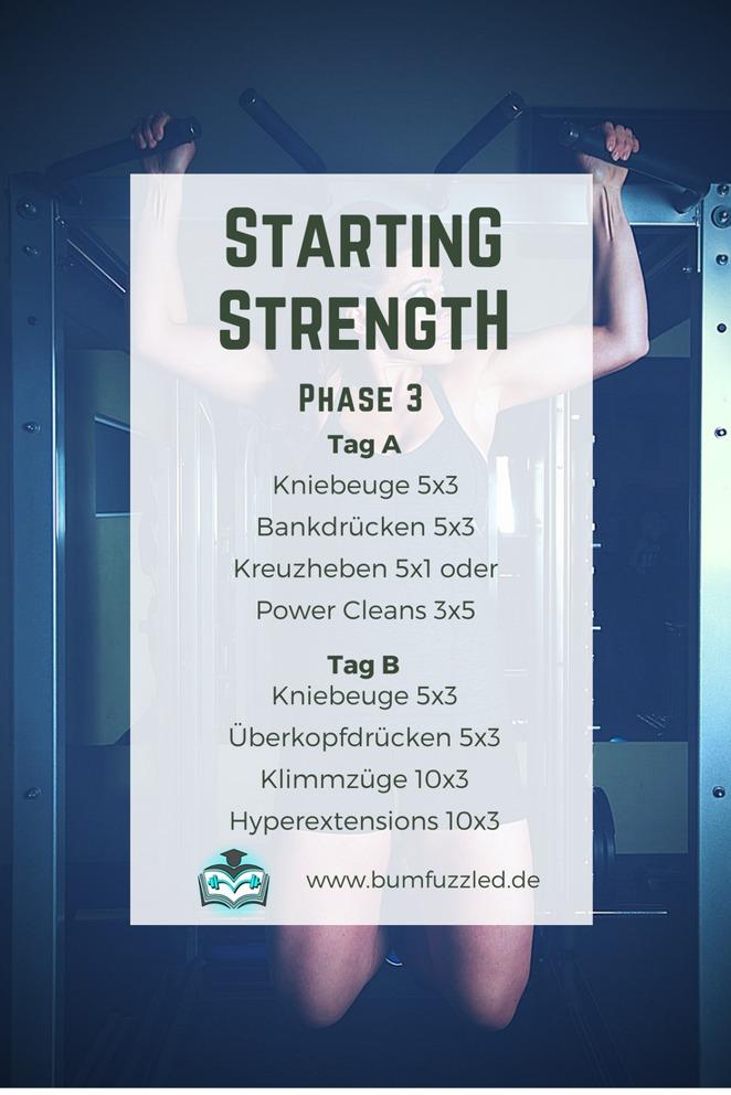 Starting Strength Einfuehrung in das Langhanteltraining